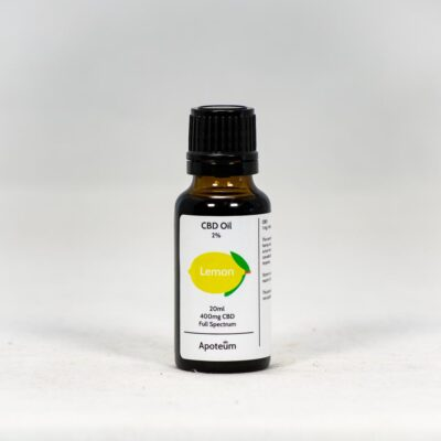 2% CBD Oil Lemon 20 ml