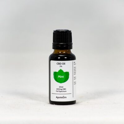 2% CBD Oil Mint 20 ml