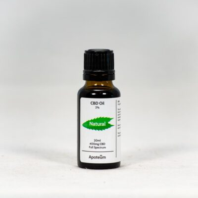 2% CBD Oil Natural 20 ml