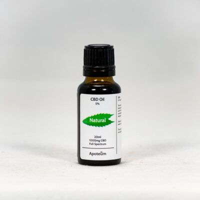5% CBD Oil Natural 20 ml