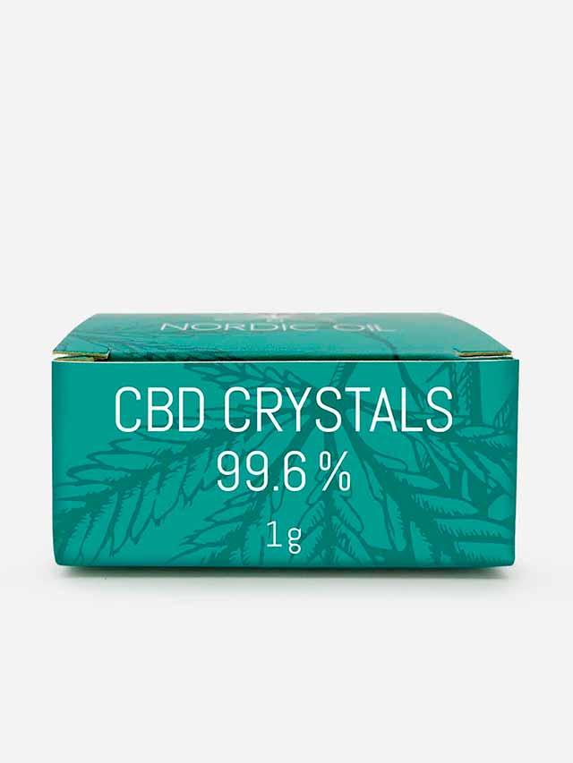 CBD krystaller med 996mg CBD i pakke