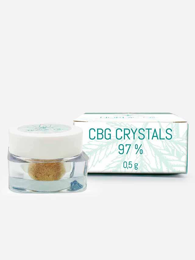 CBG krystaller med 97% CBG