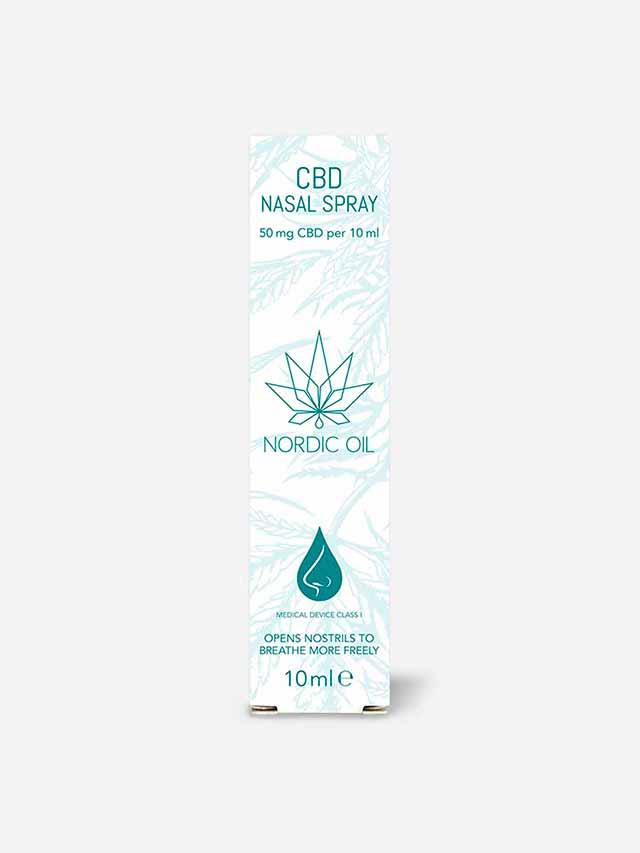 CBD næsespray pakke